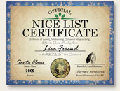 Official Personalized Nice Certificate